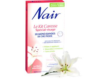 Kit caresse Spécial Visage à l'extrait de lys blanc adoucissant