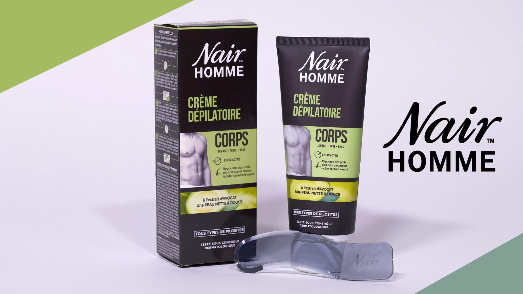Nair Homme Crème Dépilatoire